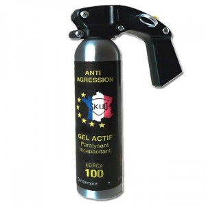 Bombe anti agression 300ml GEL lacrymogène