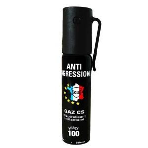 Bombe lacrymogene 25ml GAZ