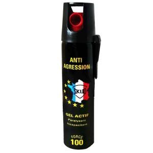 Bombe lacrymogene aerosol 75ml GEL