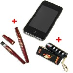 PACK ANTI-AGRESSION URBAIN Iphone Tazer et bombe lacrymogene