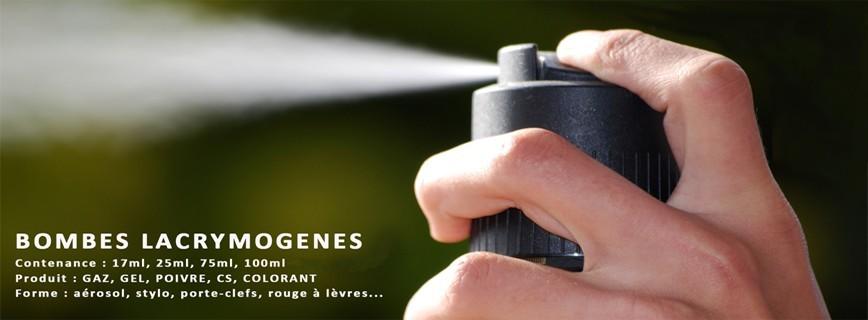 BOMBES LACRYMOGENES